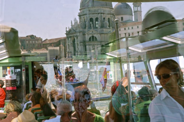 venice grand canal tourists travel photo tom ang