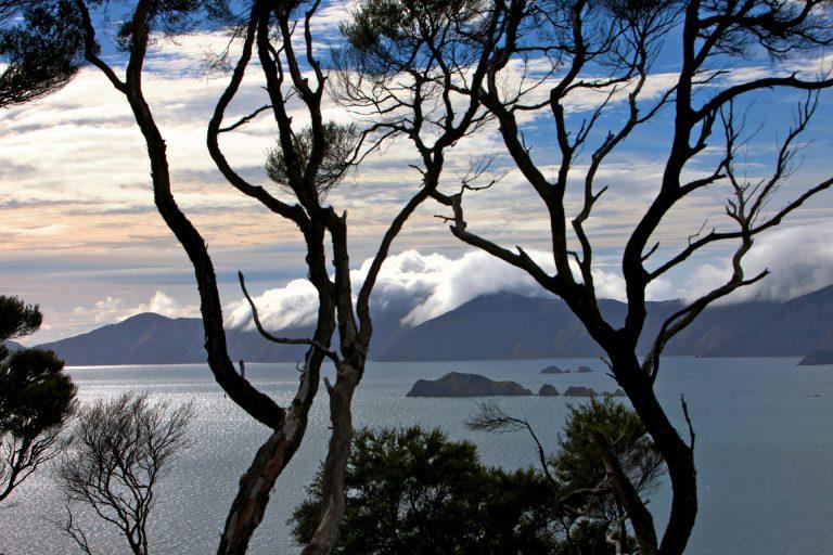 long white clouds Aotearoa New Zealand landscape travel photo tom ang